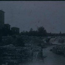 Image of The Falls and Queen Bee Mill, n.d.