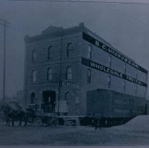 Image of B. C. McCrossan Fruit Co. (110 E. 9th), 1905