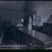 Image of Retail and churning room of Crescent Milk Co., n.d.