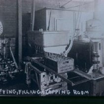 Image of Clarifying, filling, and capping room of Crescent Milk Co., n.d.