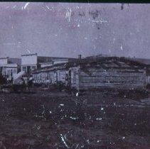Image of Fort Dakota barracks, 1870-1873
