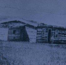 Image of Fort Dakota barracks, 1866