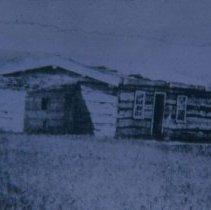 Image of Fort Dakota Barracks, ca. 1866