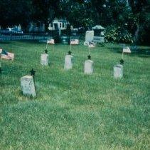 Image of Fort Dakota Soldiers' Graves -