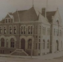 Image of Federal Building and Post Office (12th and Phillips), ca. 1895-1900