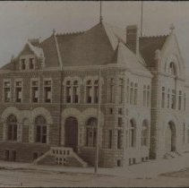 Image of Federal Building and Post Office (12th and Phillips), ca. 1900