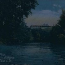 Image of The Big Sioux River (Penitentiary in background), ca. 1908