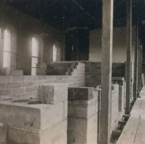 Image of Interior of the South Dakota Penitentiary, 1882