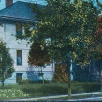 Image of Sioux Falls Hospital (19th and Minnesota), 1911