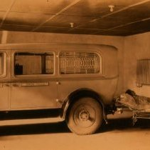 Image of Sioux Valley Hospital ambulance, n.d.