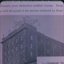 Image of Exterior of Carpenter Hotel in Sioux Falls -