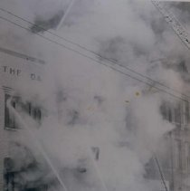 Image of Fire at the Argus Leader Building, possibly 1951