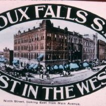 Image of Sioux Falls ad, n.d.