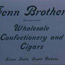 Image of Fenn Brothes ad, 1905