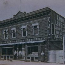 Image of Loonan Lumber Company (east side of Main between 7th and 8h), n.d.