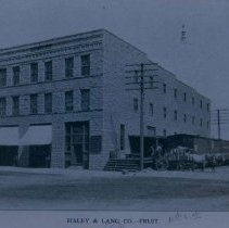 Image of Haley and Lang Company (wholesale fruit), 1905