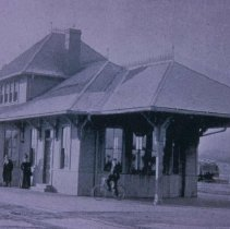 Image of Chicago, Minneapolis, St. Paul, and Omaha Passenger Depot, 1898