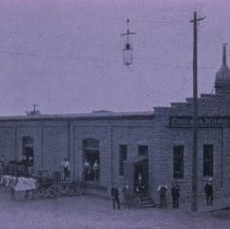 Image of Chicago, Milwaukee, and St. Paul Freight Depot, 1897
