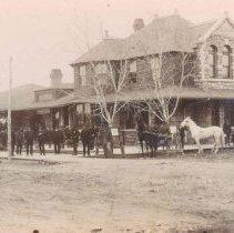 Image of Burlington, Cedar Rapids, and Northern Railway, ca. 1890s
