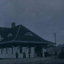 Image of Chicago, Milwaukee, and St. Paul Passenger Depot, 1898
