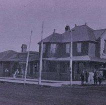 Image of Burlington, Cedar Rapids, and Northern Depot (later Rock Island), n.d.