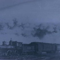 Image of Illinois Central locomotive, n.d.