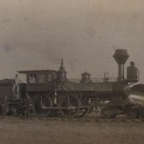Image of Chicago, St. Paul, Minneapolis, and Omaha locomotive, n.d.