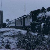 Image of Locomotive on the Milwaukee Railroad, 1929