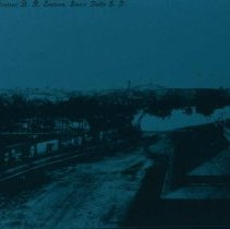 Image of View from Illinois Central Railroad Station, n.d.