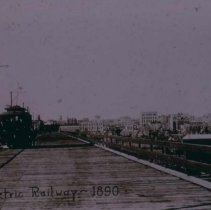 Image of Electric railroad, 1890