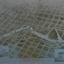 Image of Map of Sioux Falls, 1881