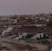 Image of Looking southwest from east side of 8th St., ca. 1885-1889
