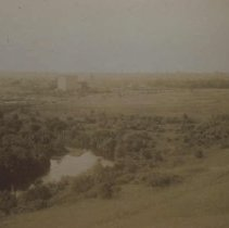 Image of Looking south from State Penitentiary, ca. 1892