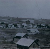 Image of Looking northwest from Whittier School, ca. 1890
