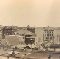 Image of Looking north from Masonic Temple, ca. 1890