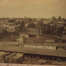 Image of Looking west from near 8th St. on east side, July 1890
