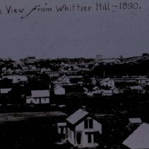Image of Bird's-eye view from Whittier Hill, 1890