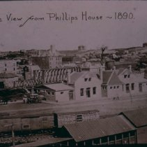 Image of Looking west from Phillips House, 1890