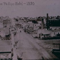 Image of View from Phillips Hotel, 1890