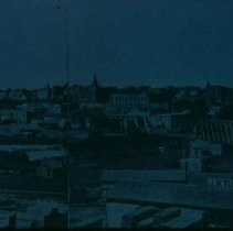 Image of Bird's-eye view of Sioux Falls, ca. 1898
