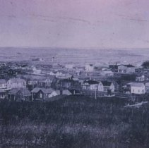 Image of Looking northeast (showing Linen Mill), ca. 1890