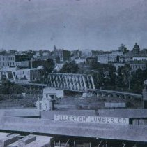 Image of Looking west from east side, ca. 1890