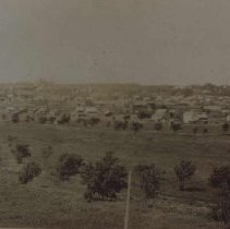Image of Looking west from Whittier School, ca. 1892