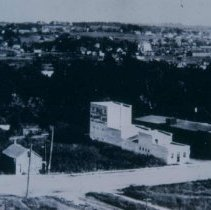 Image of Bird's-eye view of Sioux Falls, 1909