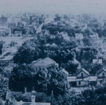 Image of View of Sioux Falls from North Minnesota Ave., hill, 1909