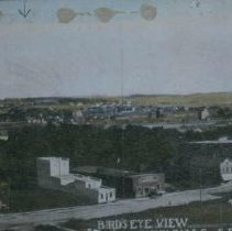 Image of Looking east at Sioux Falls, 1909