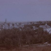 Image of Looking southeast at Sioux Falls, ca. 1900