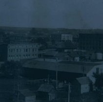 Image of View of Sioux Falls from the northwest (G. W. Fox photograph), 1908
