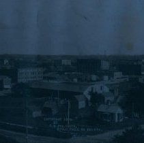 Image of View of Sioux Falls (G. W. Fox photograph), 1908