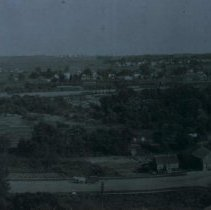 Image of Looking east from North Dakota Ave. hill, 1909